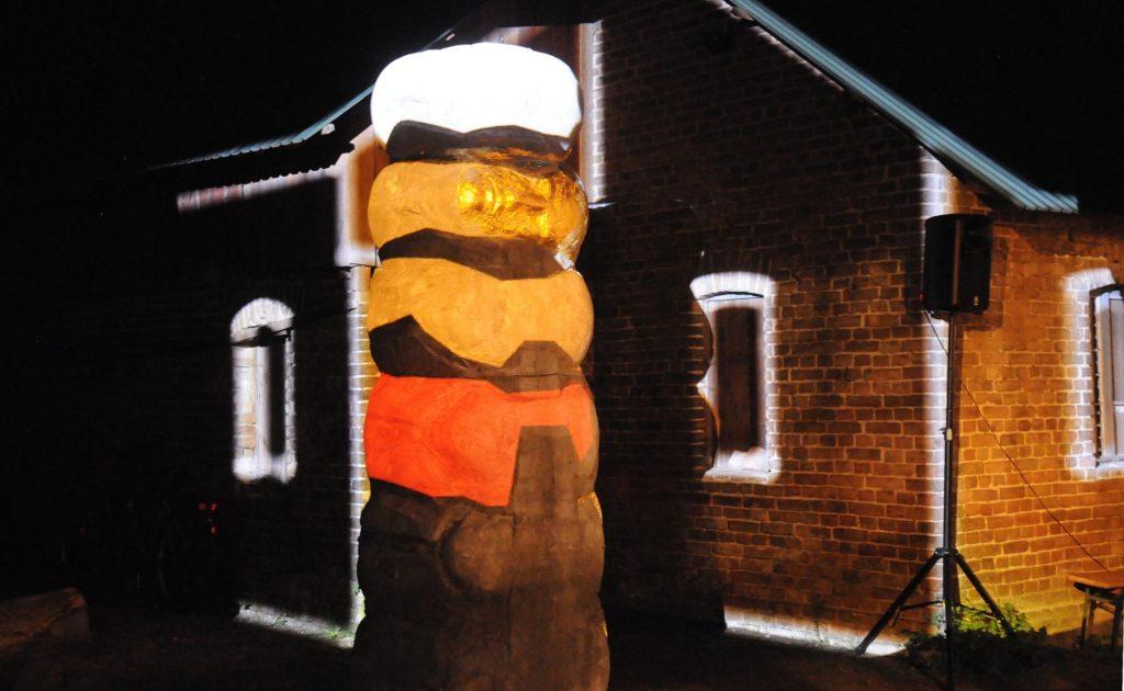 Illumination während der Langen Nacht der Kultur