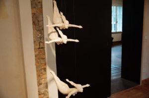 Skulpturen der Bildhauerin Anne Karen Hentschel. April 2016