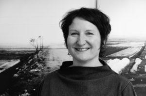 Die Fotokünstlerin Sabine Wild. Kleinmachnow April 2016