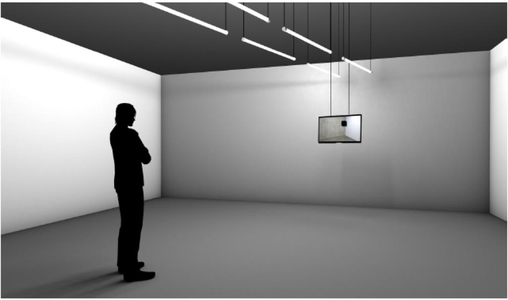 """Yvon Chabrowski / Nicolás Rupcich: """"FACES - closed-circuit installation"""""""