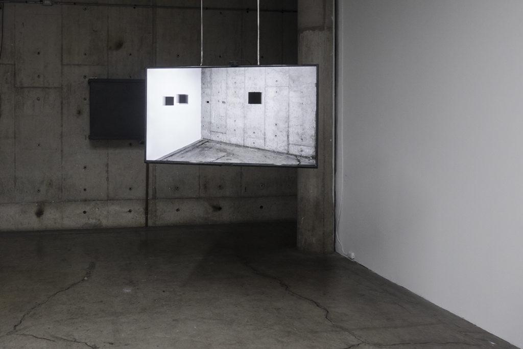 """Yvon Chabrowski/Nicolás Rupcich: """"FACES, Closed-circuit installation"""""""