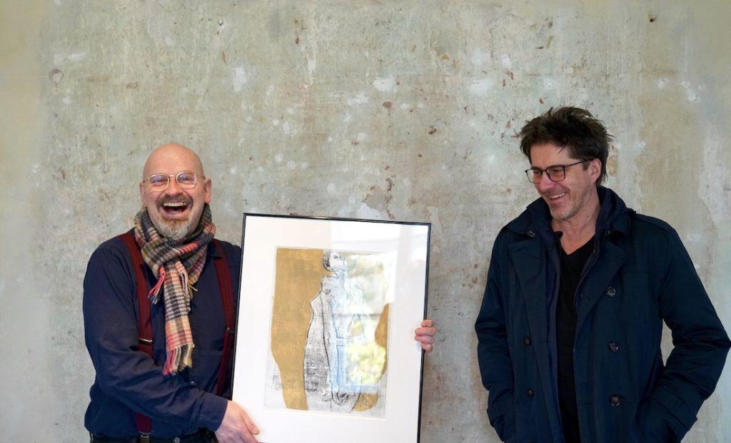 Jan Beumelburg (rechts) mit Rainer Ehrt
